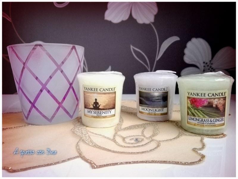 Candele Profumate Yankee   Yankee candle nuove candele profumate my  serenity a spasso con bea 148ff3d1fbc8