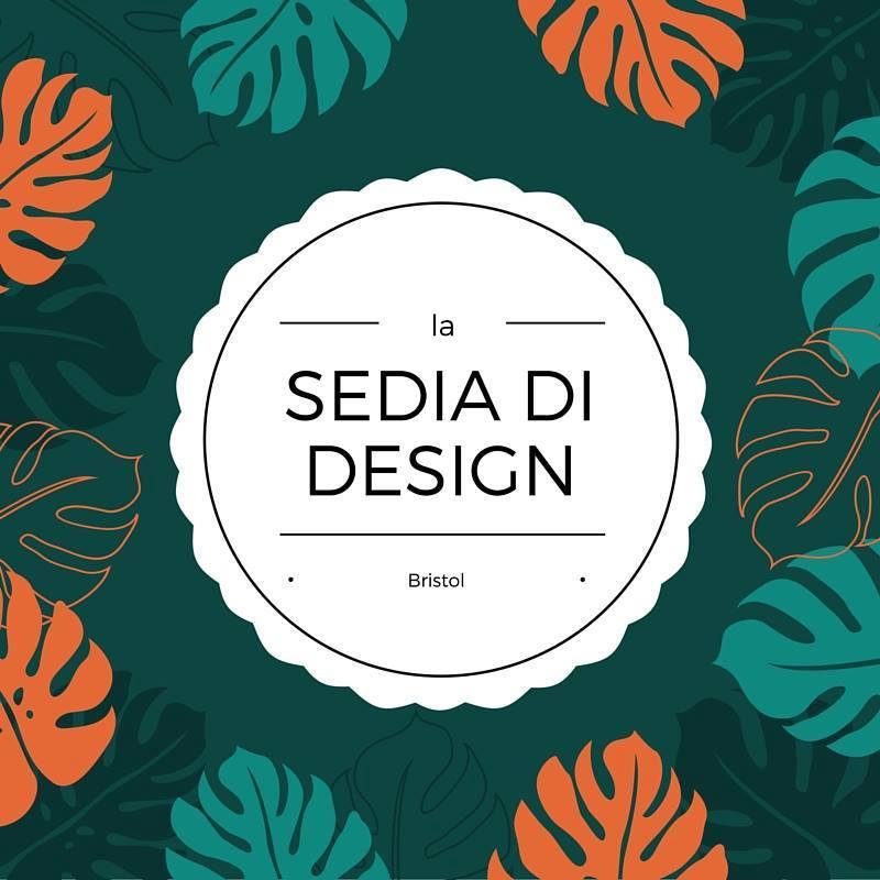 La sedia di design la mia tulipano blu a spasso con bea for Sedia di design
