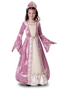 costume-da-principessa-romantica-rosa-per-bambina