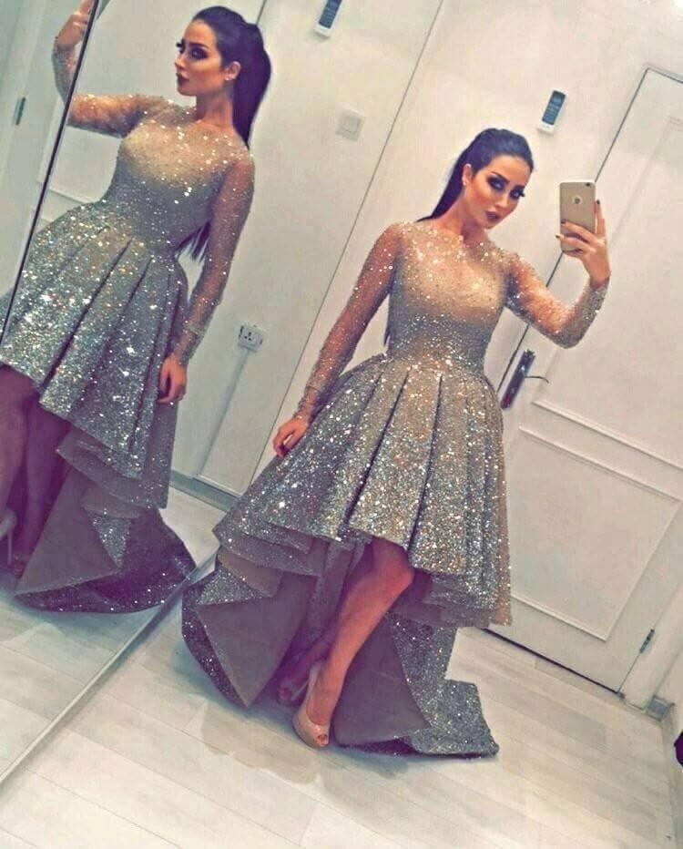 newarrival-dress-long-shine-dress