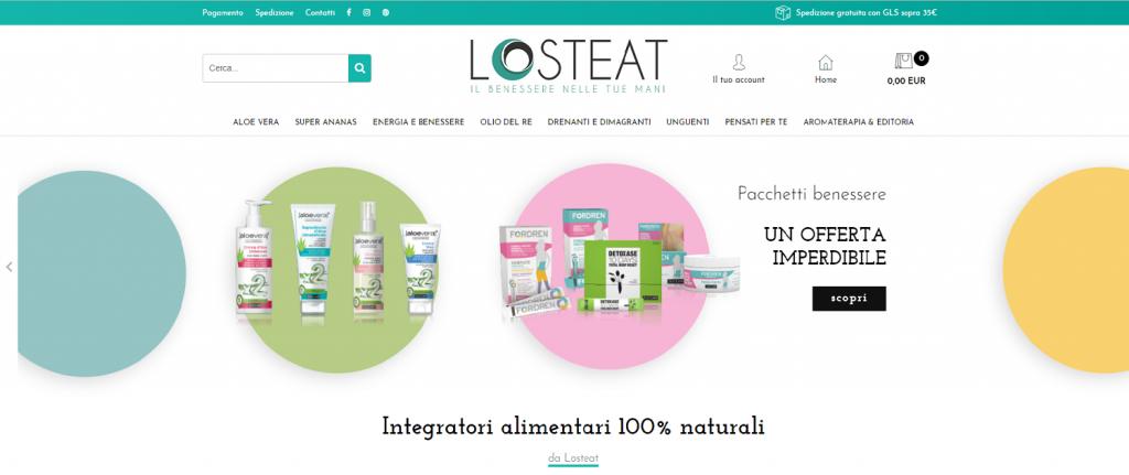 Losteat e-commerce