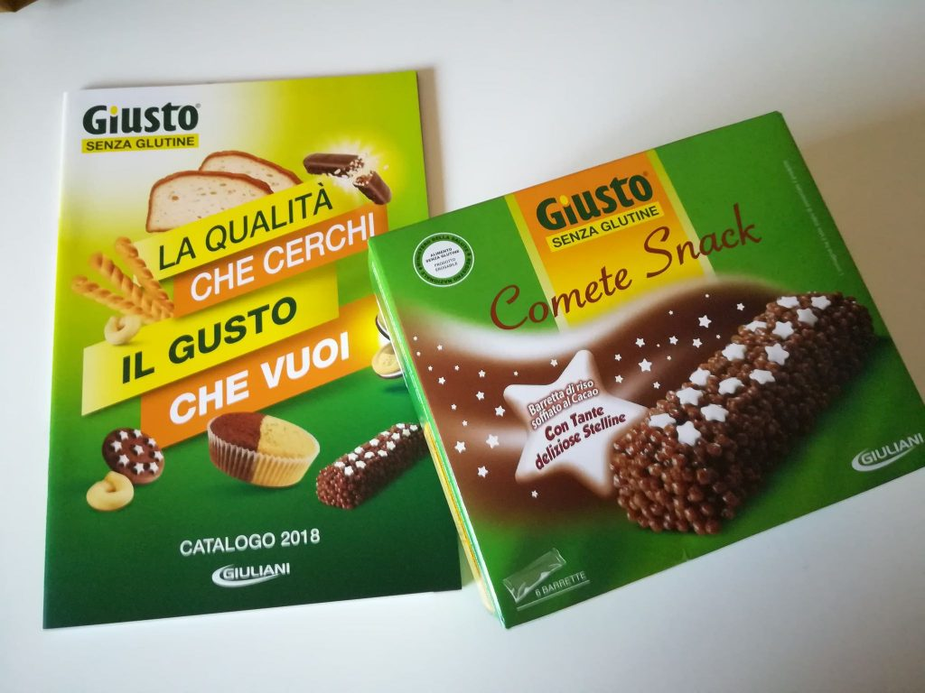 Comete snack Giusto Senza Glutine