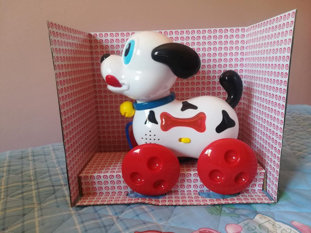 Il mio primo cagnolino Globo giocattoli