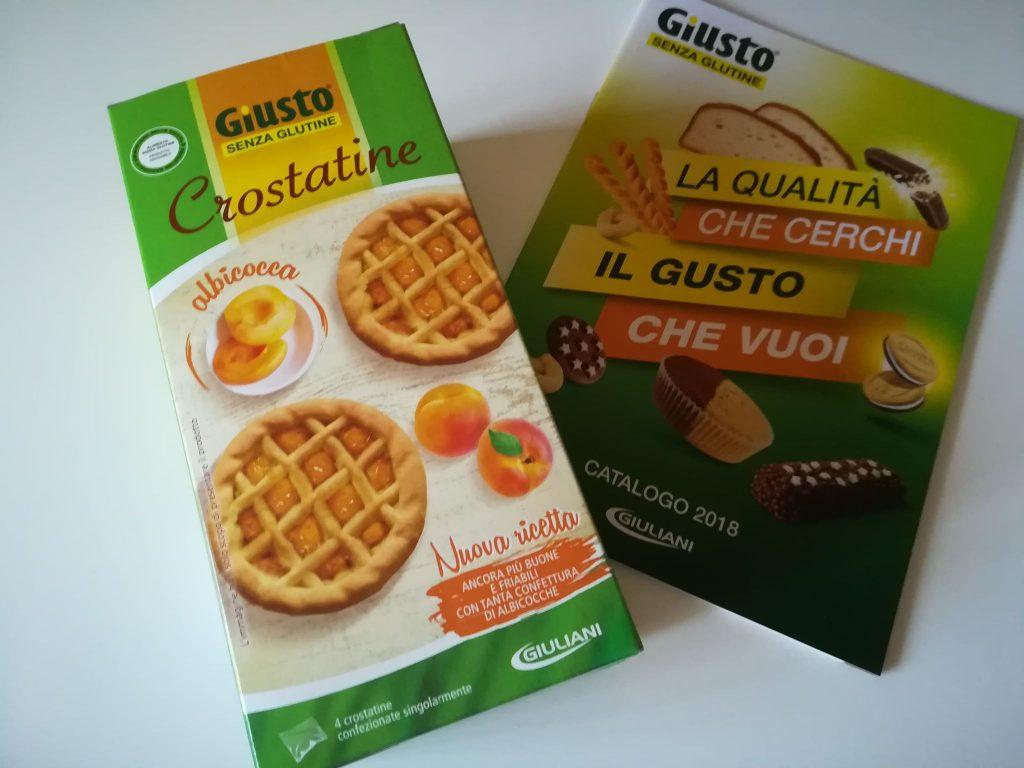 Crostatine Giusto senza Glutine