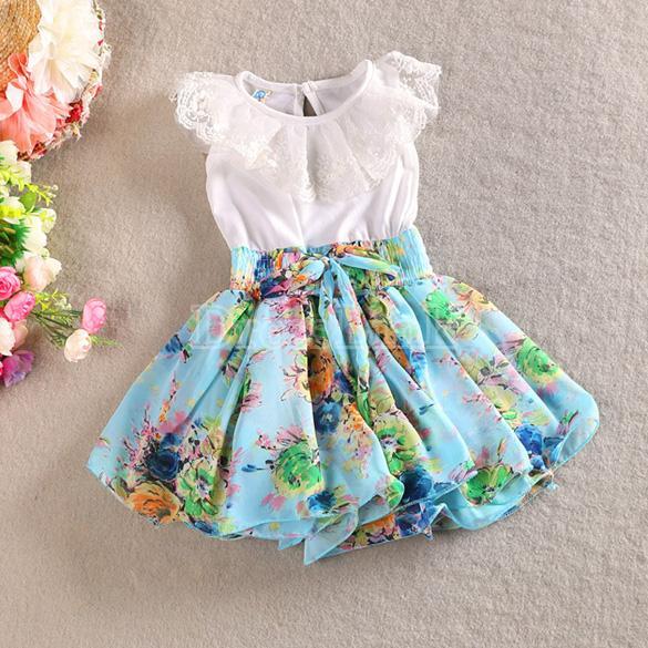 new-girls-wear-sleeveless-lace-decor-chiffon-patchwork-cute-print-multilayer-dress