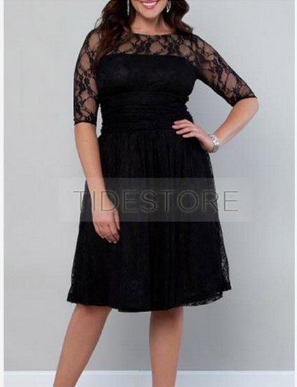 Best-Selling-Cocktail-Plus-Size-Dress