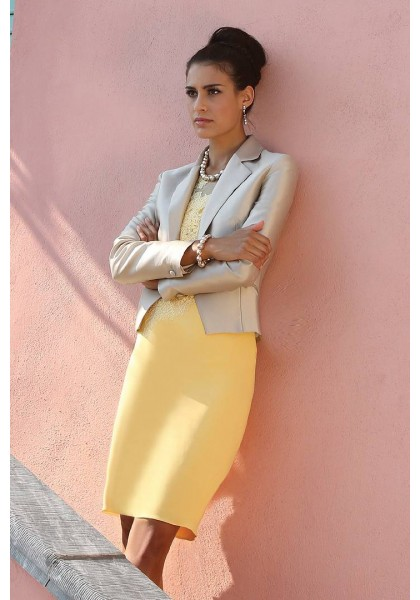 Weddings-in-the-fall-illusion-knee-length-silver-yellow-satin-sheath-column-mother-of-the-bride-dress-with-jacket