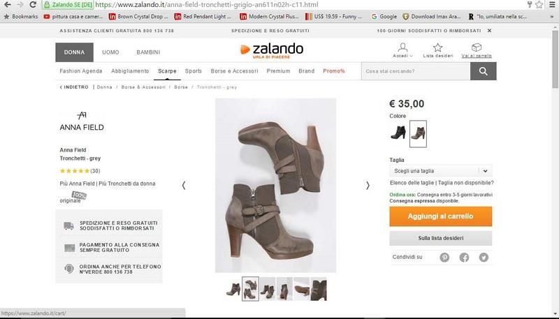 best service 80d71 c7315 Zalando, shopping senza intoppi! - A Spasso con Bea