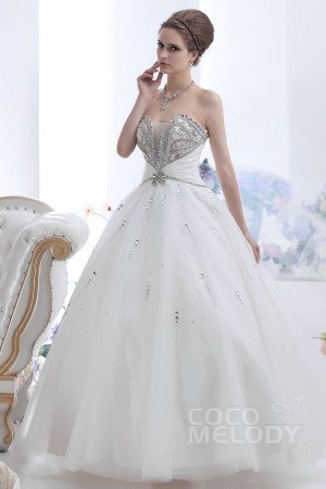 Cocomelody-a-line-sweetheart-floor-length-tulle-ivory-wedding-dress