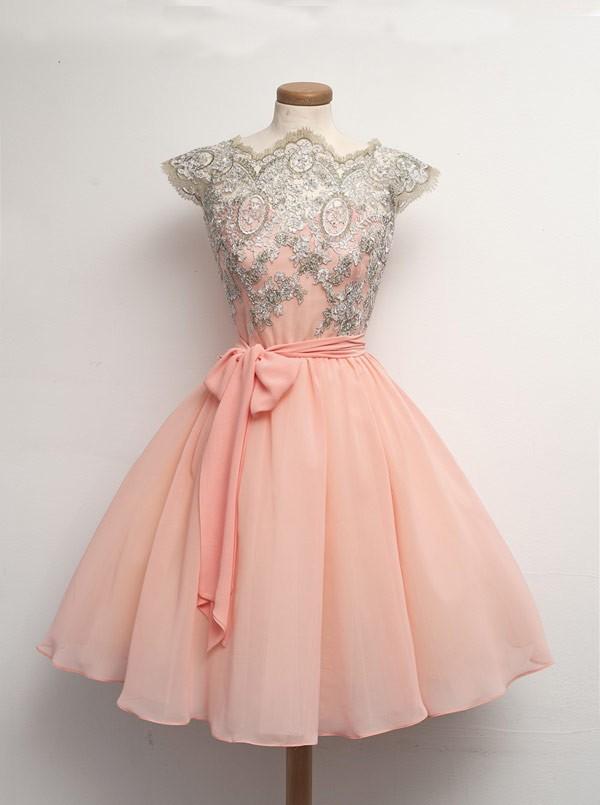 dressthat-mini-chiffon-lace-sashes-short-homecoming-dress