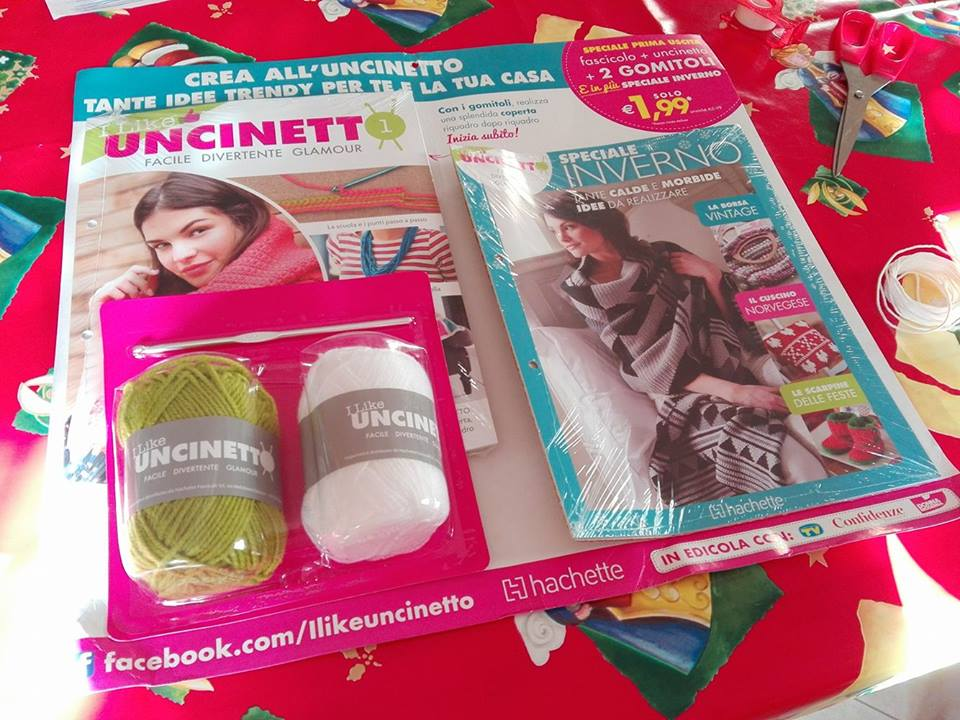 I Like Uncinetto In Edicola Dal 28 Dicembre A Spasso Con Bea