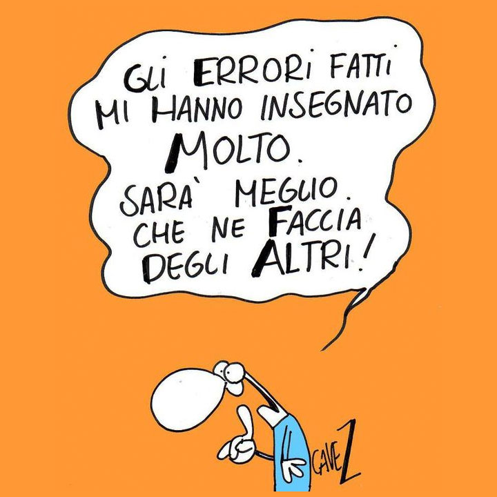 Errori di italiano: gli-errori-fatti-mi-hanno-insegnato-molto-sara-meglio-che-ne-faccia-degli-altri