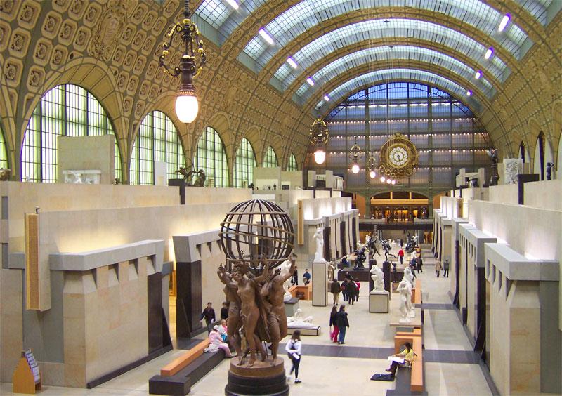 Viaggio breve a Parigi - Museo d'Orsay interno