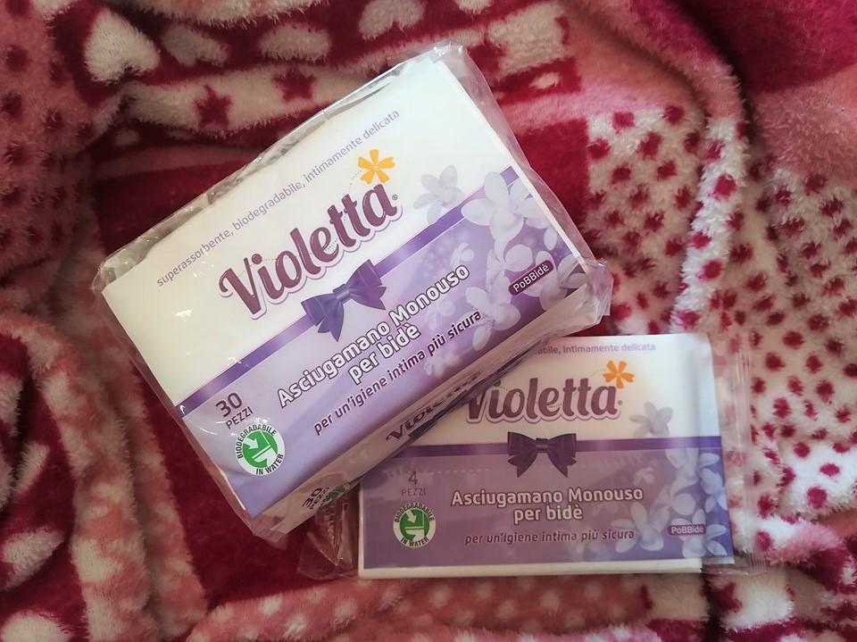 Violetta asciugamano monouso