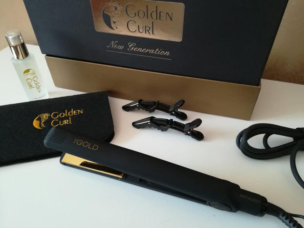 Golden Curl piastra professionale