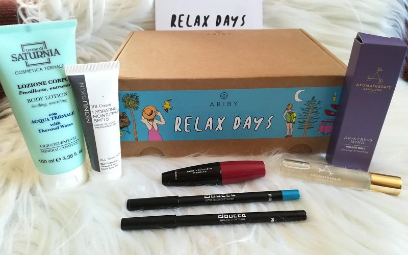Abiby Relax Days Agosto