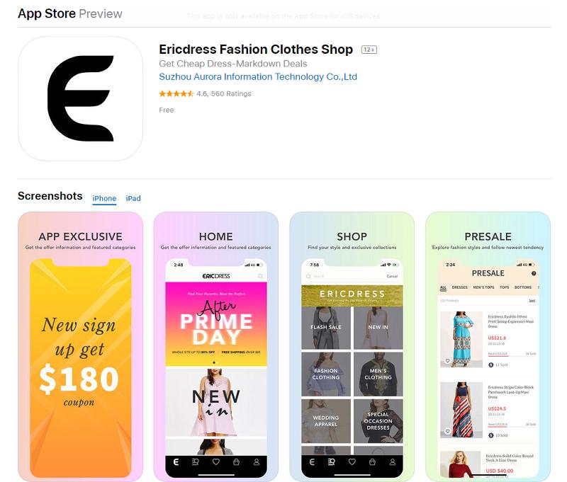 Ericdress App