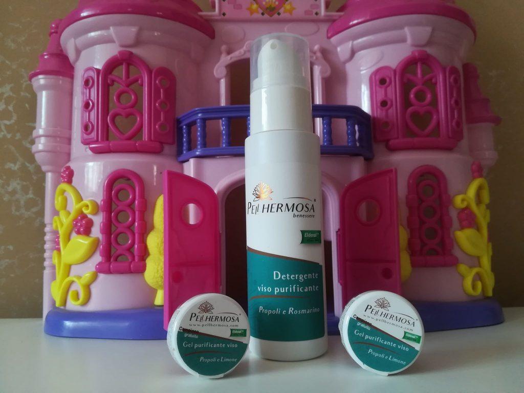 Pellhermosa Detergente viso Purificante propoli e rosmarino
