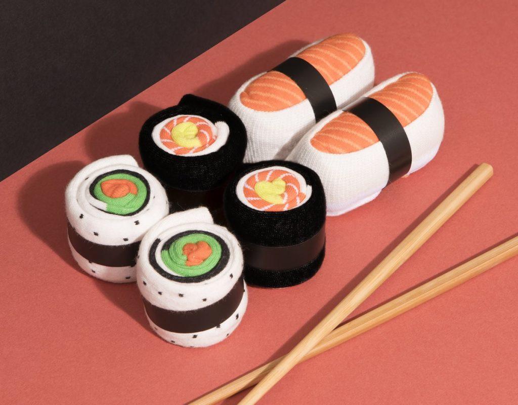 Regali per amiche - Calze Sushi