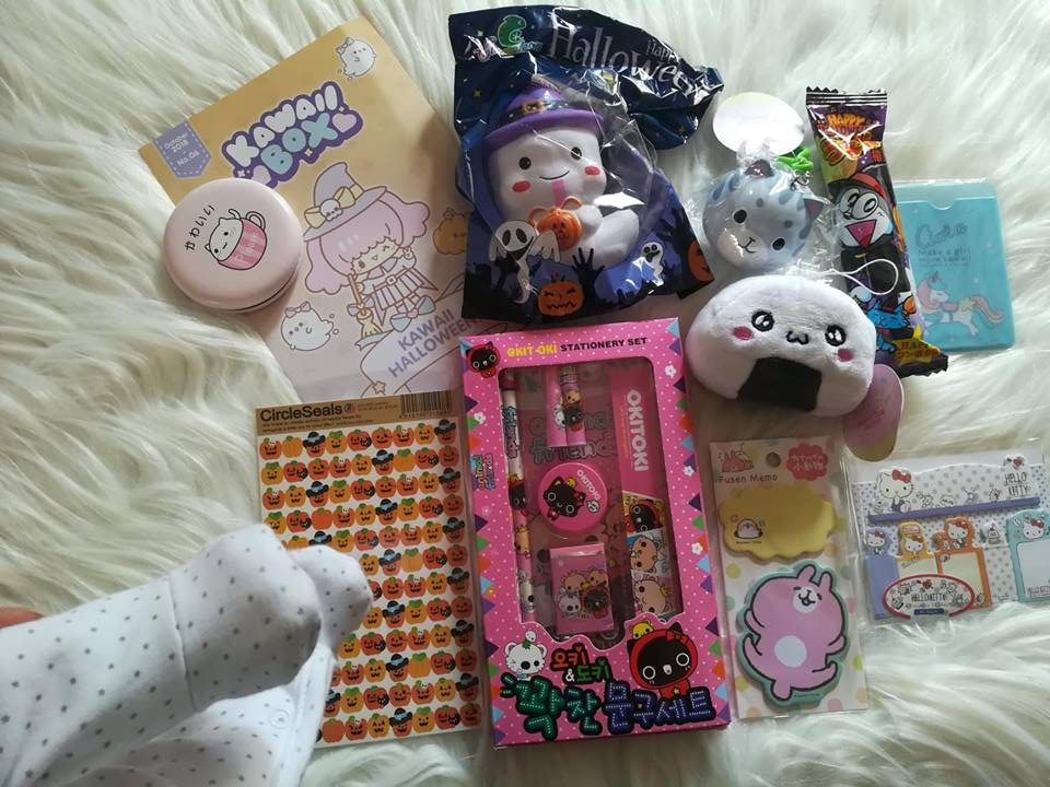 Kawaii Box Halloween