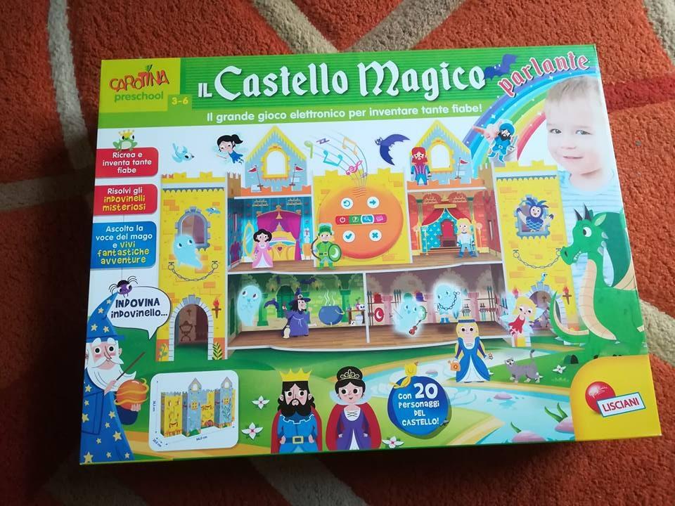 castello-magico-parlante-giochi educativi Lisciani