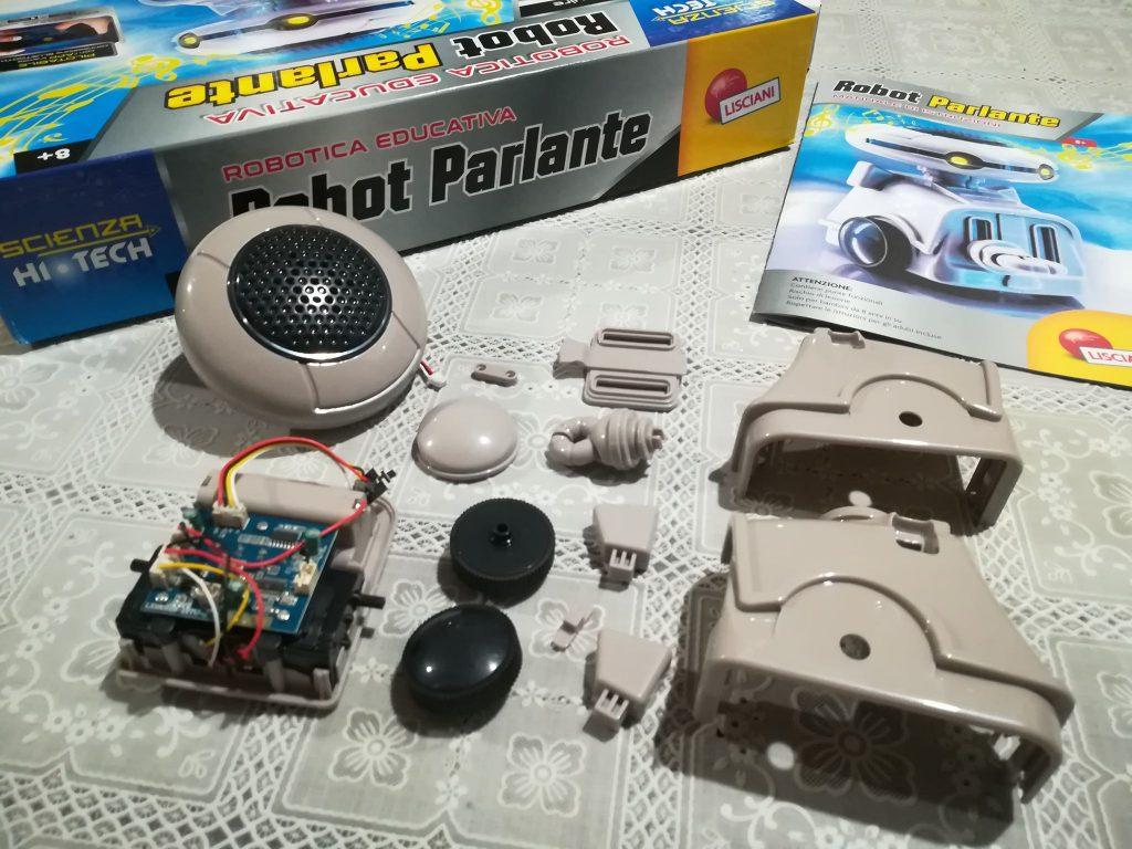 Meccanica e robotica per ragazzi - Robot parlante