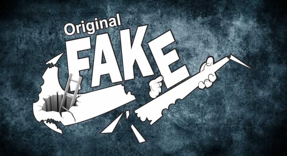 t-shirt Original FAKE - Magliettopoli.com