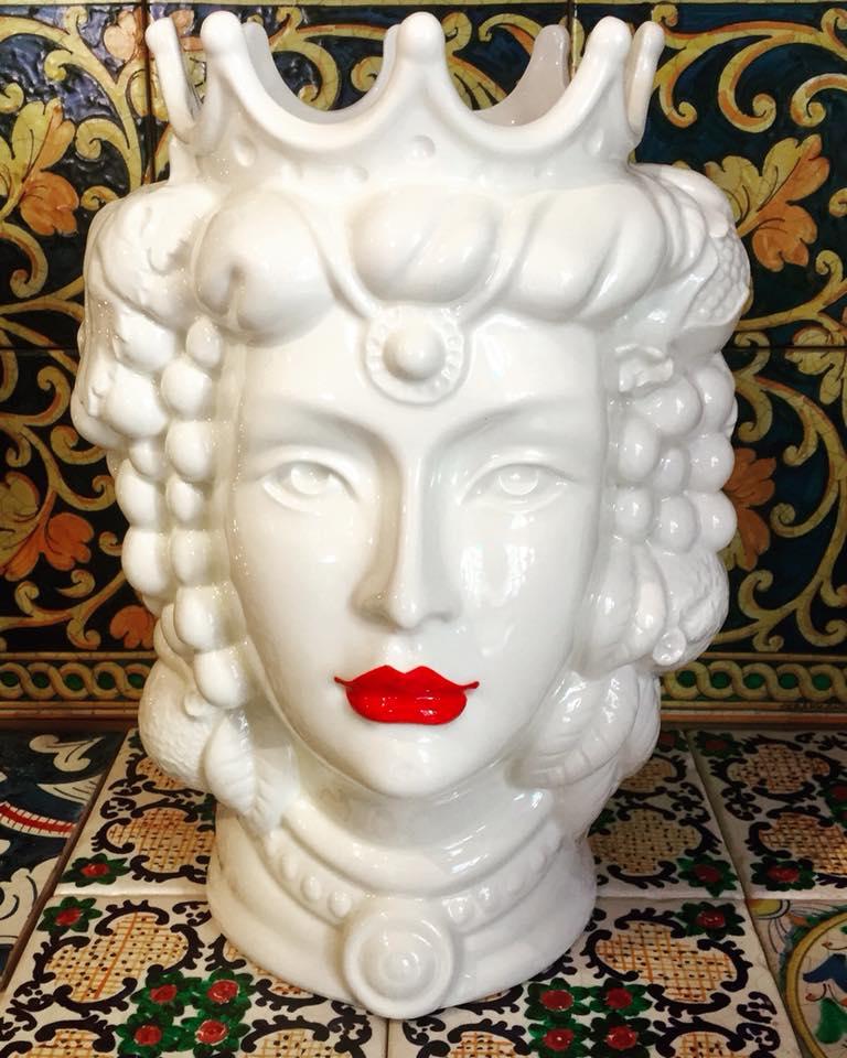 Testa di Moro Ceramicando, Palermo.