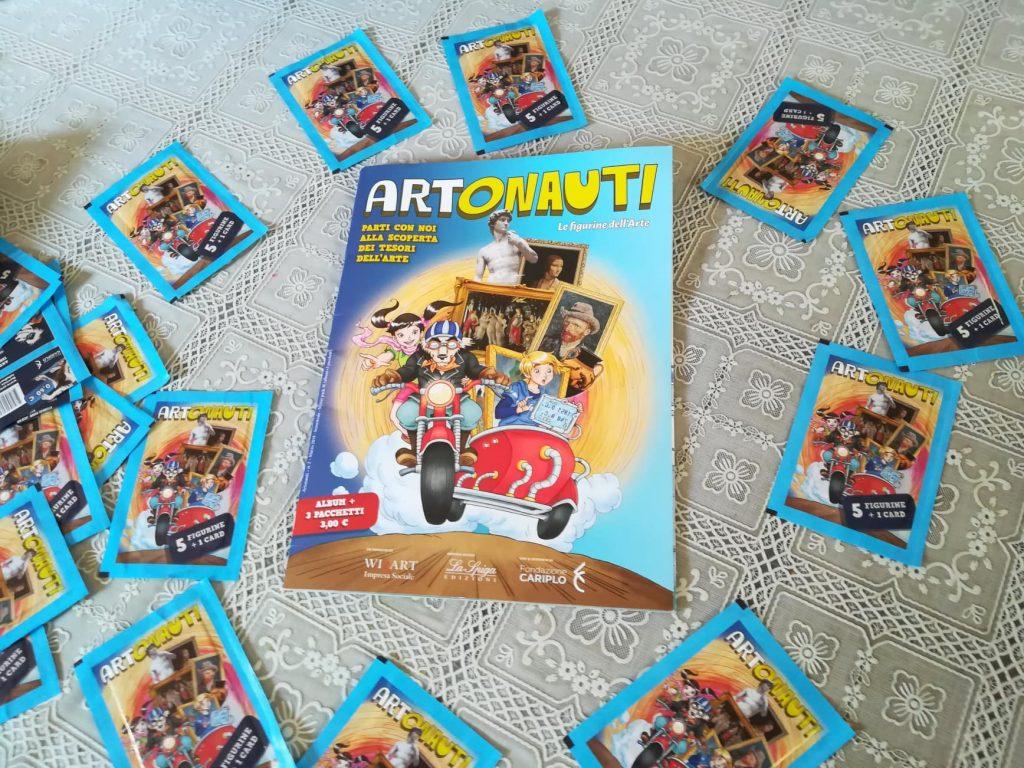 Artonauti, le figurine dell'arte
