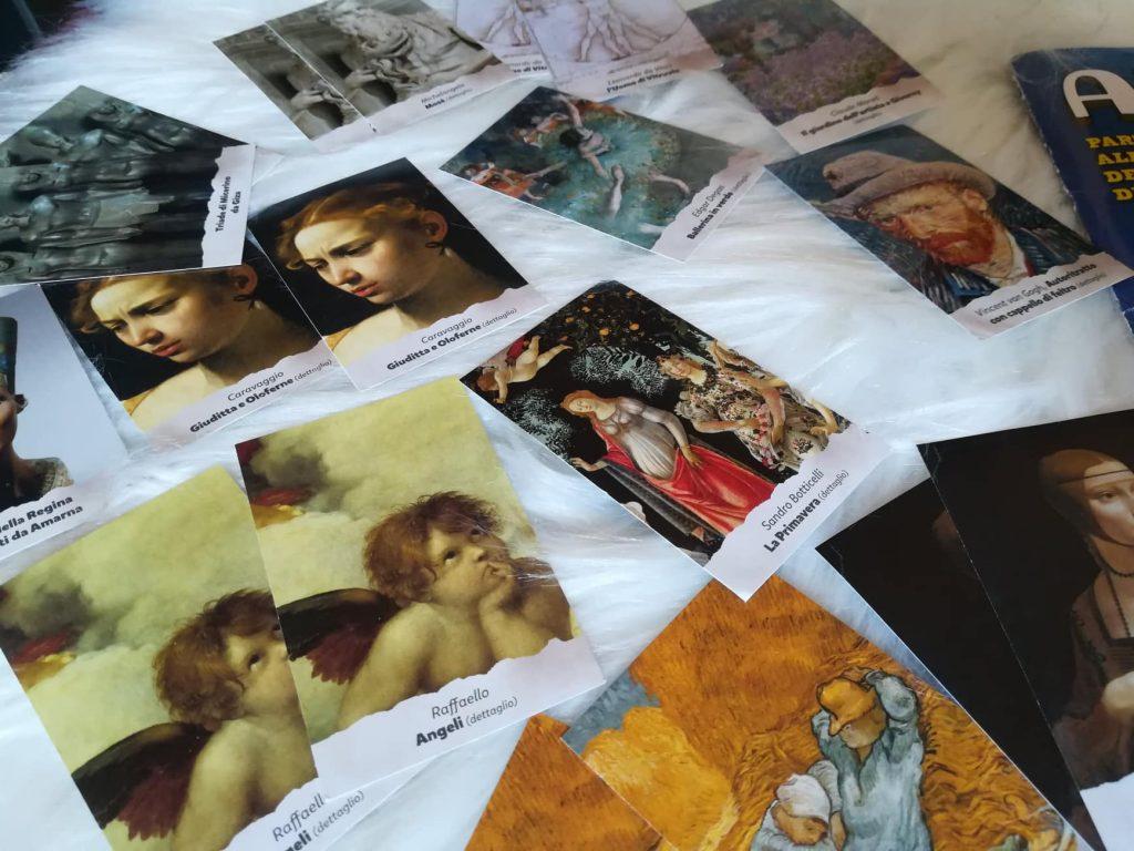 Artonauti, le figurane dell'arte - twin card