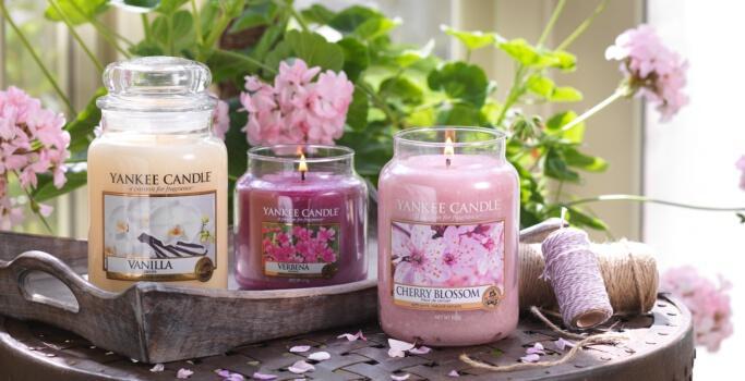 Festa della mamma: candele profumate