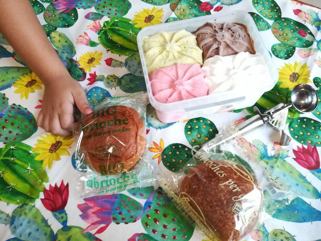 brioche per il gelato Fraccaro Spumadoro