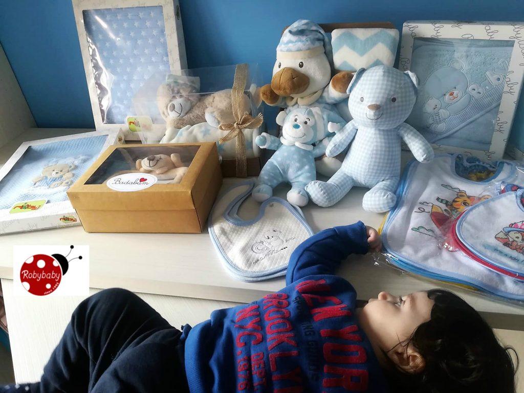 quando nasce un bambino - Regali Robybaby tessile per neonati