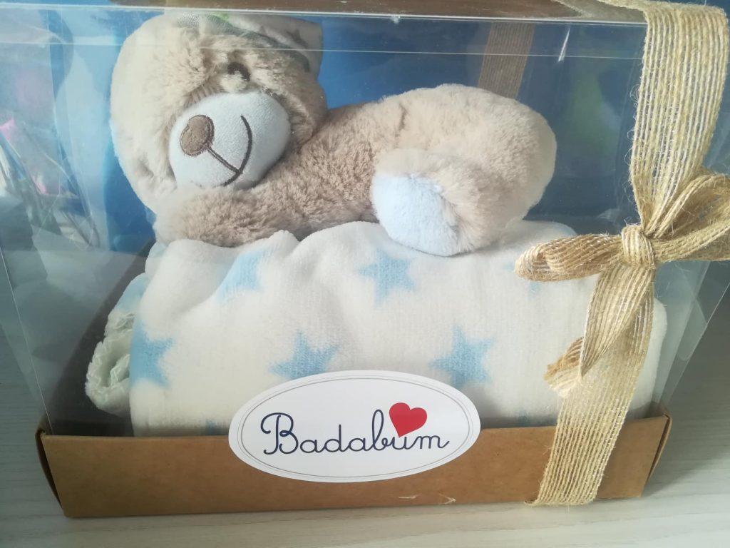 quando nasce un bambino - set regalo badabum - robybaby