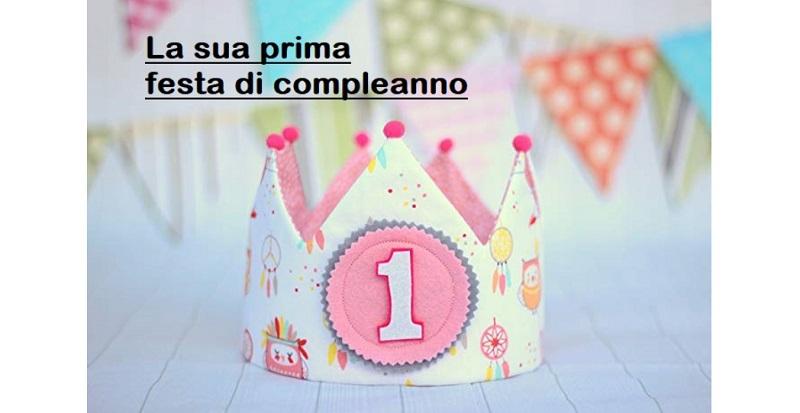 La sua prima festa di compleanno