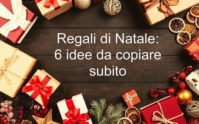 Regali di Natale 2019: 6 idee da copiare subito