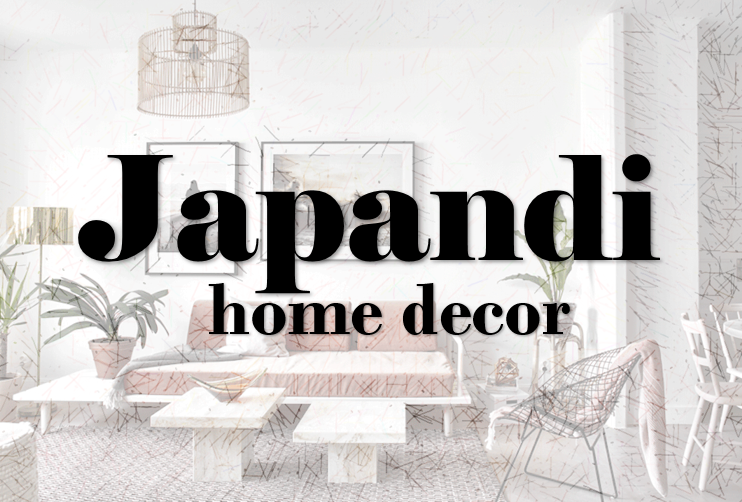 Japandi home decor primavera