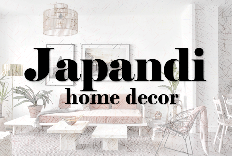 Japandi home decor