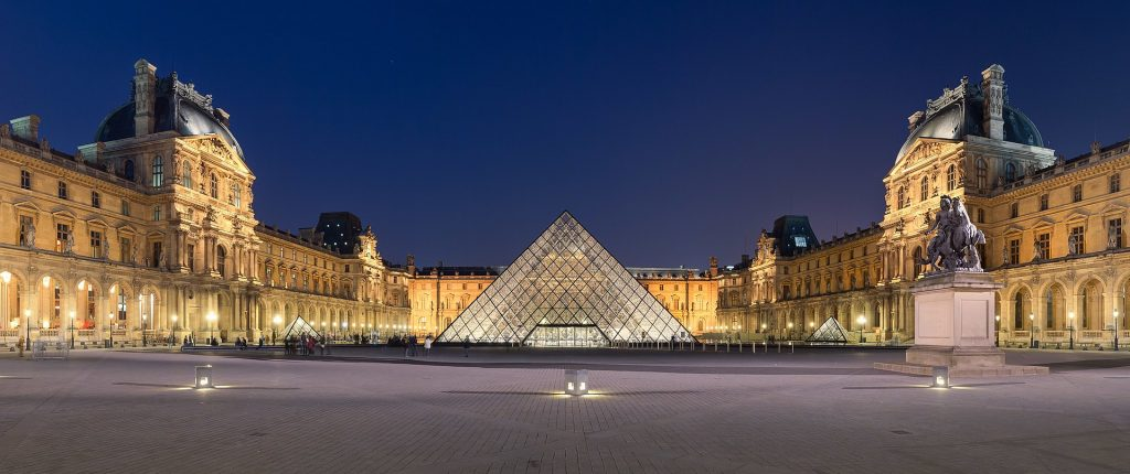 Louvre, tour museo online
