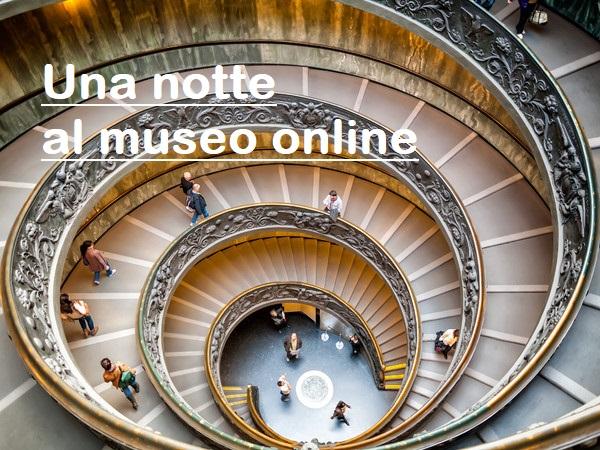 una notte al museo online