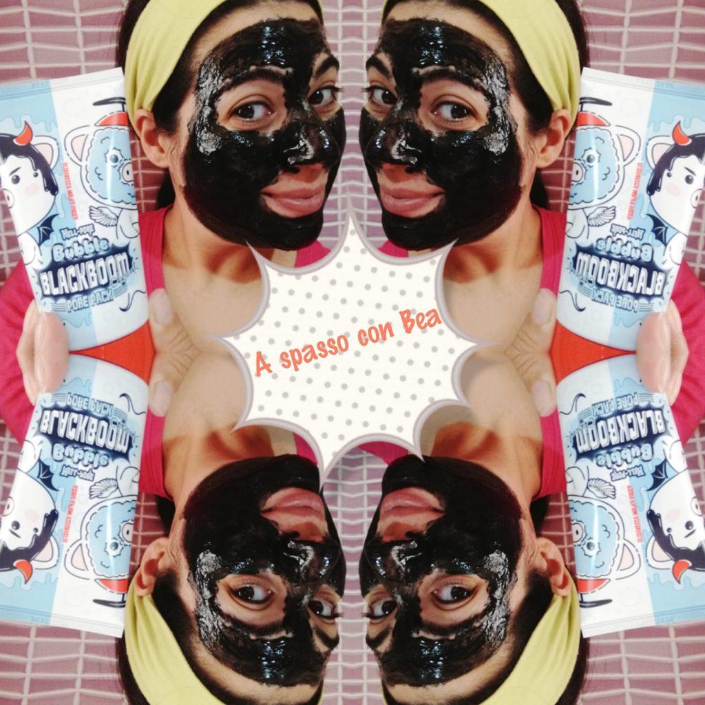 Bubble Blackboom cosmetici coreani Elizavecca