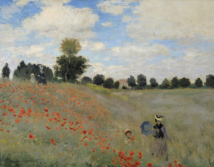 Cinque quadri famosi: I Papaveri di Monet