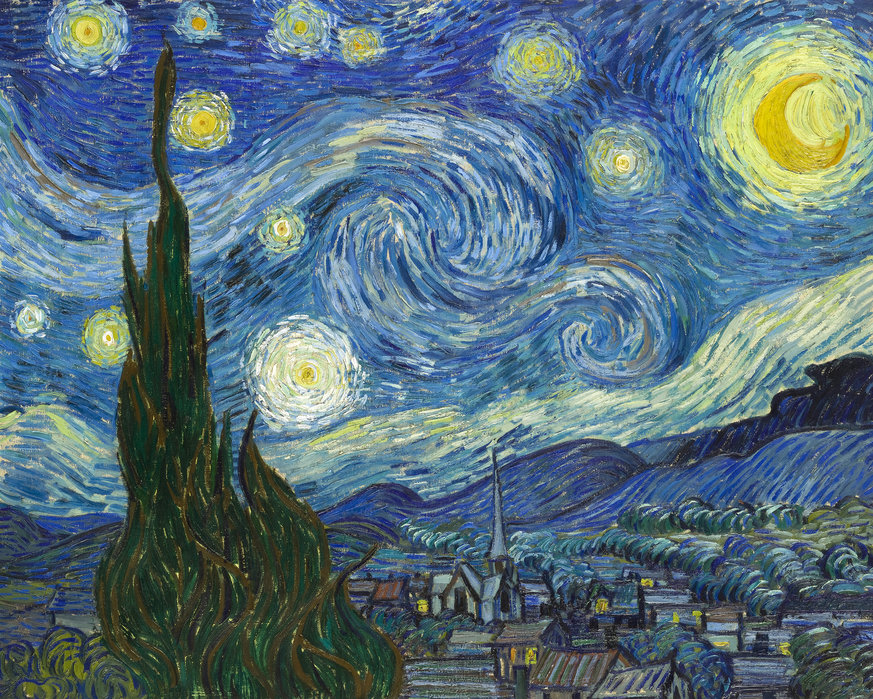Cinque quadri famosi: Notte Stellata di Van Gogh