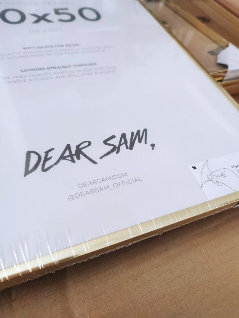 Dear Sam Cornici gallery wall