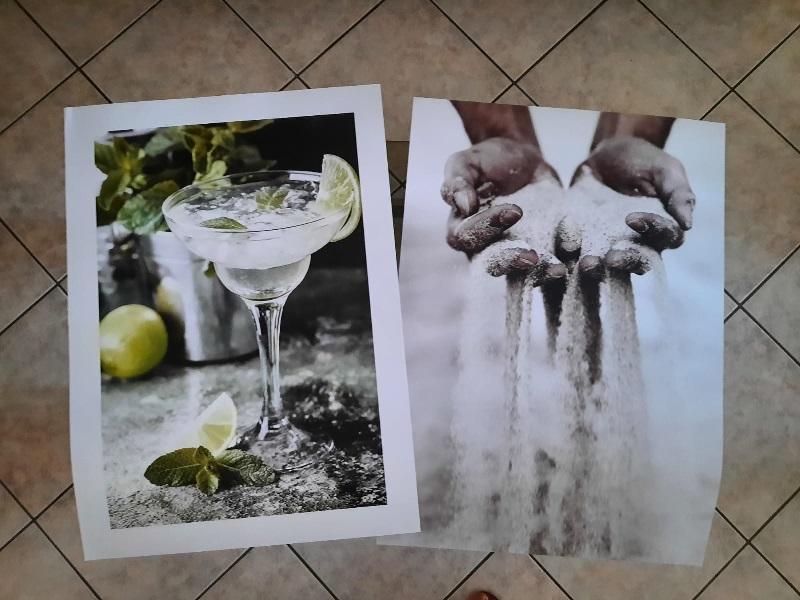 Poster Store, Lime Margarita e Grani di sabbia